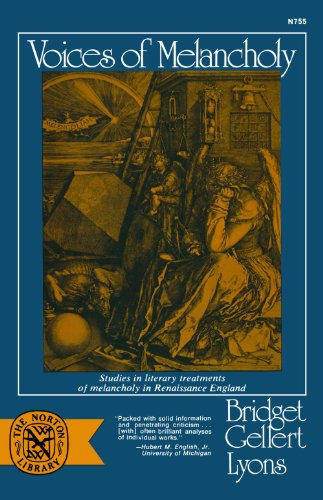 9780393007558: Voices of Melancholy: Studies in Literary Treatments of Melancholy in Renaissance England (Norton Library)