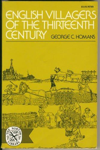 9780393007657: English Villagers of the Thirteenth Century
