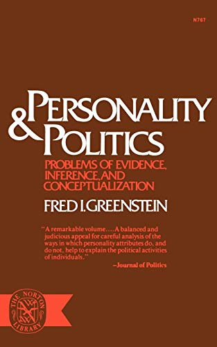 Personality and Politics: Problems of Evidence, Inference, and Conceptualization