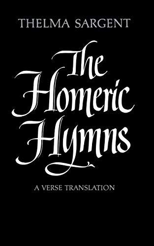 9780393007886: The Homeric Hymns: A Verse Translation