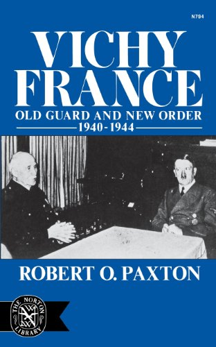 Vichy France (The Norton library): Paxton O Robert
