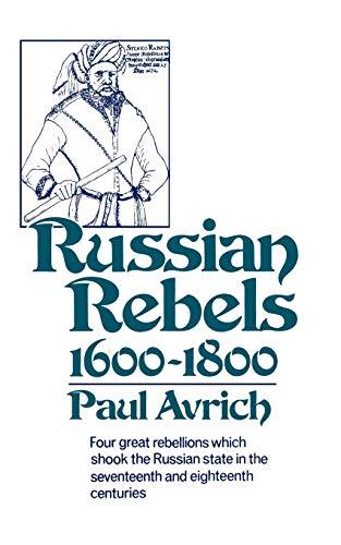 9780393008364: Russian Rebels, 1600-1800 (Norton Library (Paperback))
