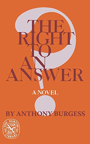 9780393008876: Right To An Answer