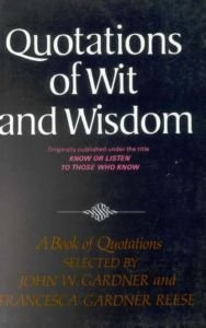 9780393009439: Quotations of Wit and Wisdom