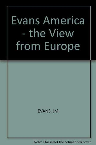 9780393009552: Evans America - the View from Europe (A Norton paperback)