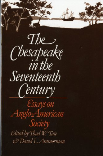 9780393009569: The Chesapeake in the Seventeenth Century: Essays on Anglo-American Society