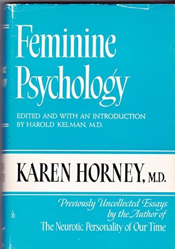 9780393010459: Horney Feminine Psychology (Cloth)