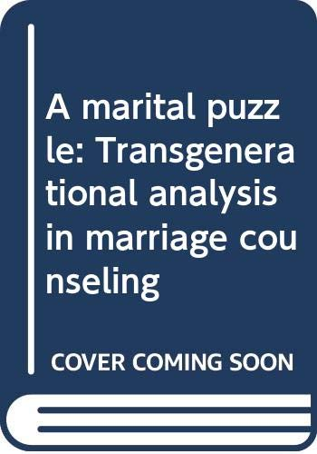 9780393011166: A marital puzzle: Transgenerational analysis in marriage counseling