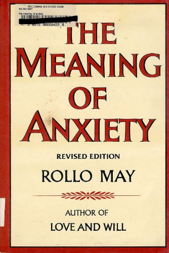 9780393011364: The Meaning of Anxiety