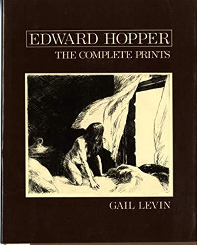 Edward Hopper: The Complete Prints: Gail Levin