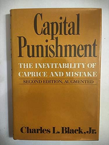 9780393013337: Capital Punishment