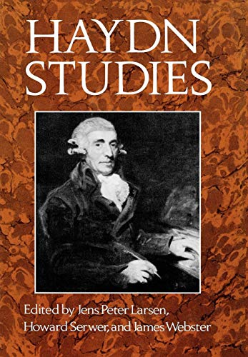 9780393014549: Haydn Studies: Proceedings of the International Haydn Conference, Washington, D.C., 1975