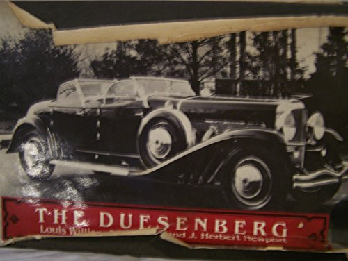 The Duesenberg: Louis William Steinwedel;
