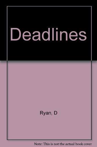 Deadlines: Ryan, Desmond