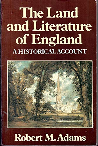 9780393017045: The Land and Literature of England: A Historical Account