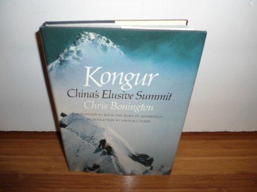 9780393017625: Kongur: China's Elusive Summit