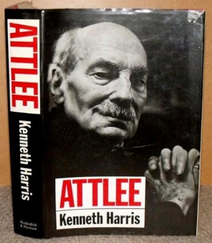Attlee (signed): HARRIS, KENNETH