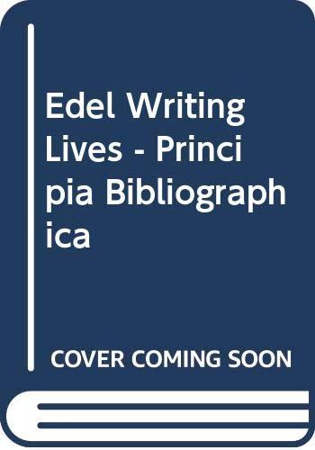 9780393018820: Writing Lives: Principia Biographica