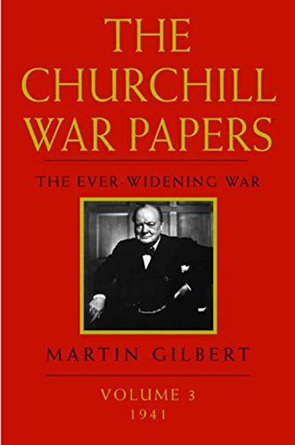 9780393019599: The Churchill War Papers: The Ever Widening War, Volume 3: 1941