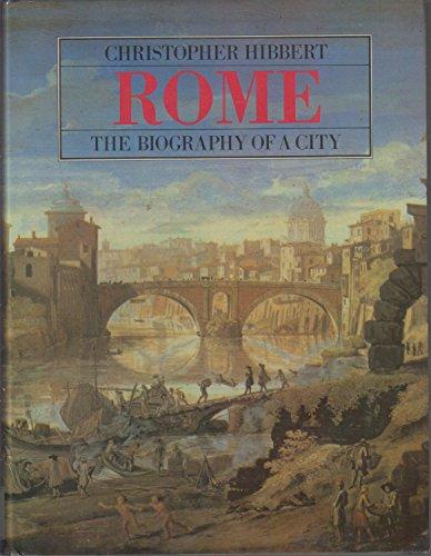 9780393019841: Hibbert Rome - A Biography of A City