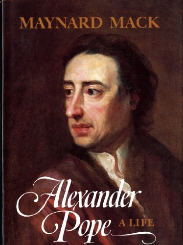 9780393022087: Alexander Pope: A Life