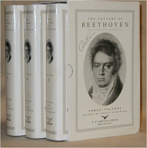 9780393022476: The Letters of Beethoven