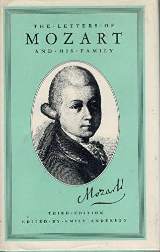9780393022483: The Letters of Mozart and His Family