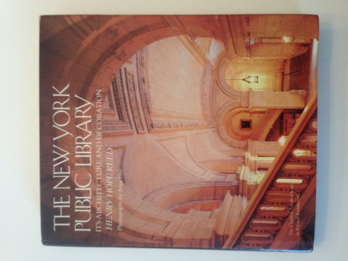 9780393023176: New York Public Library: Its Architecture and Decoration (The Classical America series in art and architecture)