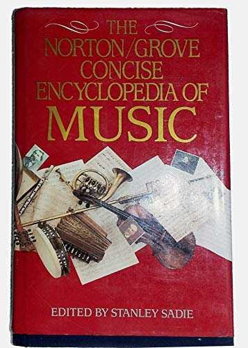 9780393026207: The Norton/Grove Concise Encyclopedia of Music