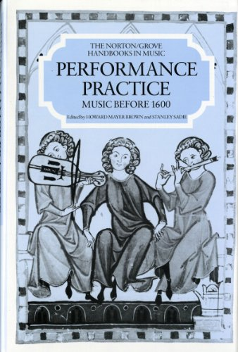 9780393028072: Performance Practice: Music Before 1600