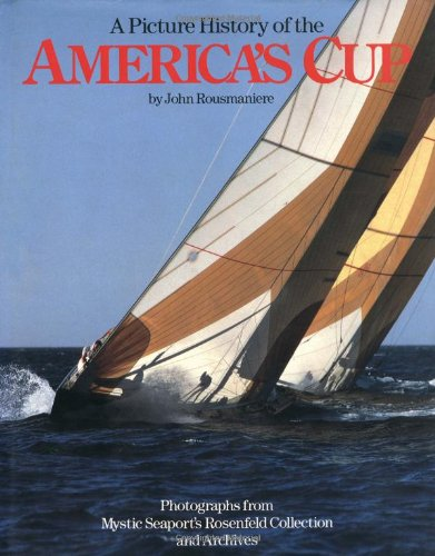 9780393028195: A Picture History of the America's Cup