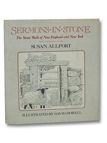 9780393028669: Sermons in Stone: The Stone Walls of New England and New York