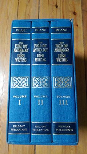 Field Day Anthology of Irish Writing