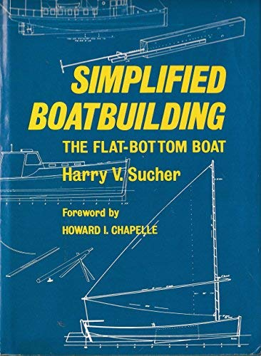 9780393031737: Simplified Boatbuilding: The Flat-Bottom Boat