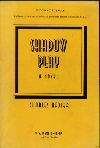 9780393034370: Baxter: Shadow Play: A Novel