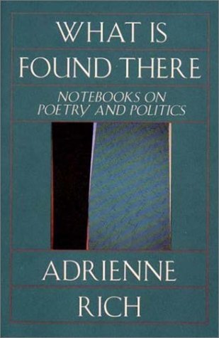 What Is Found There: Notebooks on Poetry and Politics (SIGNED): Rich, Adrienne