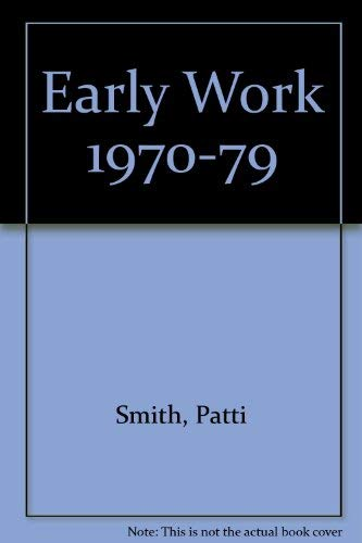 9780393036138: Early Work 1970-79