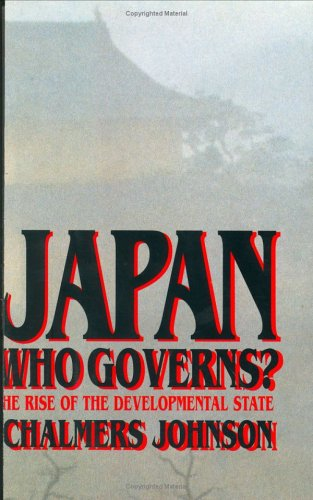 9780393037395: Japan: Who Governs? - The Rise of the Developmental State