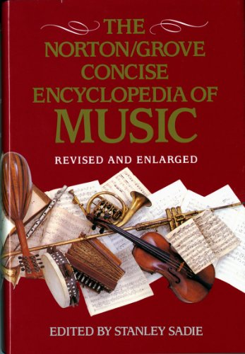 9780393037531: Norton/Grove Concise Encyclopedia of Music: Revised and Enlarged