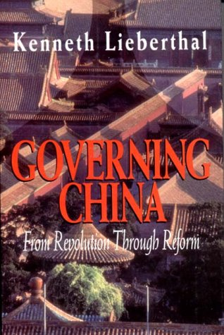 9780393037876: Governing China: From Revolution Through Reform