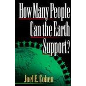 9780393038620: How Many People Can the Earth Support?