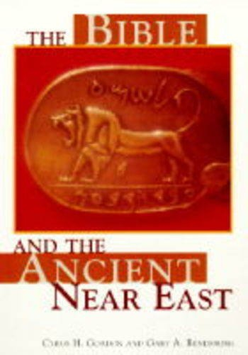 The Bible and the Ancient Near East: Cyrus H. Gordon,