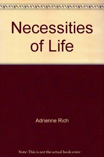 9780393042474: Necessities of Life