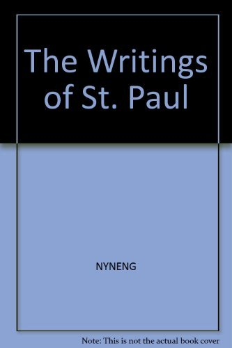 9780393043389: The writings of St. Paul (A Norton critical edition)