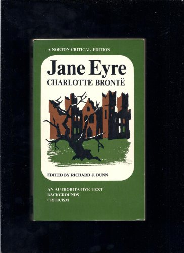 9780393043426: Jane Eyre,: An authoritative text, backgrounds, criticism, (A Norton critical edition)