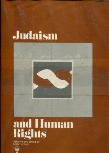 9780393043570: Judaism and human rights (The B'nai B'rith Jewish heritage classics)