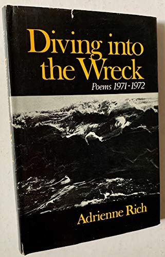 9780393043709: Rich Diving into the Wreck (Cloth)