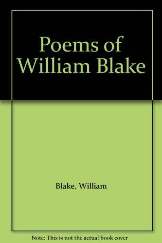 The Poems of William Blake: Erdman, David V.;Stevenson,