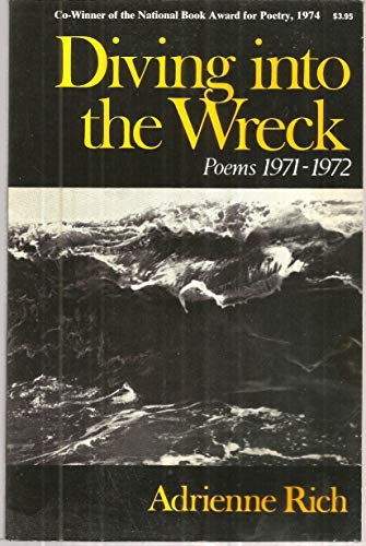 9780393043846: Diving into the Wreck: Poems 1971-1972