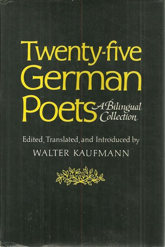 9780393044058: Twenty-five German poets: A bilingual collection